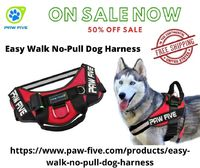 Are you looking for Easy Walk No-Pull Dog Harness at an excellent competitive price? If yes, this place is for you. At Paw Five, we are offering innovative and top quality Easy Walk No-Pull harness with a built-in waste bag dispenser, as well as a wide ra...