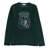 Simple Kids Star Wars T-Shirt Dark green `3 years,4 years,6 Fabrics : Cotton jersey Details : Star Wars print, Round Neck, Long sleeves Composition : 50% Cotton, 50% Polyester http://www.comparestoreprices.co.uk//simple-kids-star-wars-t-shirt-dark...