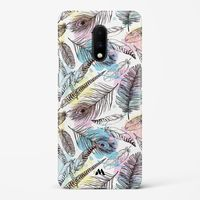 Feathers in Pastels Hard Case Phone Cover from Myxtur