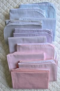 Molly's Sketchbook: Oxford BurpCloths - Oxford Burp Cloths - the purl bee