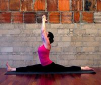 Go Splits! 9 Stretches to Get You There If you have always wanted to do a split, you need flexible hips and hamstrings. Practice these nine stretches and you'll soon be on your way.