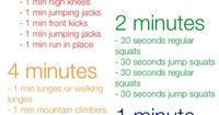 5-4-3-2-1 Workout Ok I think I can handle this for starters. What is it about exercise that it's always on the back burner? Christina keeps telling me that I have to stop worrying about the house work that isn't getting done and spend some time on...