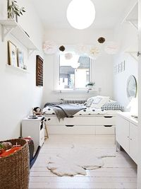 """A smart way to address the problem of small space �€"""" you get both beds and storage in the same footprint."""