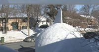 Epic Snow Shark In Minnesota... - Seriously, For Real? <-- way to put my entire childhood to shame