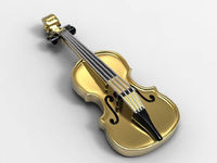 Violin Pendant 14K Or 18K Yellow & White Gold Music Teacher Gift Violin Charm Antique Gold Music Themed Pendant Music Instrument Jewelry $933.00
