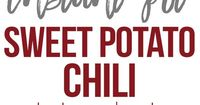 This Instant Pot Sweet Potato Chili makes a hearty, delicious chili recipe in minutes! Made with ground beef, sweet potatoes, and packed with flavor! If you lov