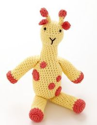 Crochet this adorable Toy Giraffe in Cotton Hemp and save 50% off your yarn purchase online!
