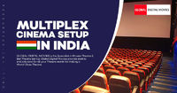 Global Digital Movies offer world-class customizable multiplex cinema set up in India. Our creative developers who specialized to create unique & luxurious world class multiplex cinema setup in India with True 4K Projectors, Dolby Atmos Sound System &...