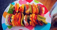 "BBQ Veggie Kabobs and Corn Cobs �€"" Simply Taralynn"