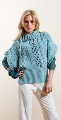 Malo's Women's Collection FW 2013-14 with open cables.
