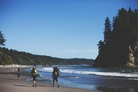 Backpacking in the rain forest and on the beach of the Washington Coast (Olympic National Park) is on my bucket list of things I want to do! WOW! Amazing adventure and beauty!
