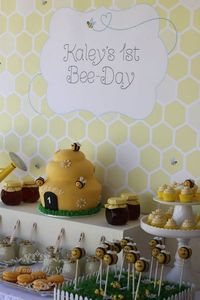 Little Big Company | The Blog: A 1st Bee-Day A Bee themed first birthday by Touch of Style Events