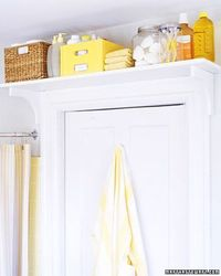Inspired organizing ideas abound in these real-life bathrooms, which also feature our favorite space-saving solutions.