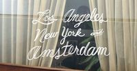 Los Angeles New York and Amsterdam (mark sloan)