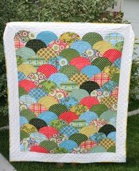 Try this strategy for the Garnet Hill quilt I wanted last year.