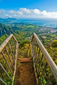 Haiku Stairs, Oahu, Hawaii: