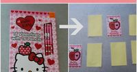 How to Make a Memory Game from Valentine's Cards