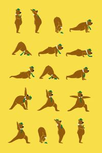 Yoga Bear ...get you some sun salutation on, & then maybe a picnic basket.