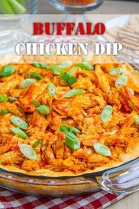 All of the flavours of buffalo chicken wings in a hot cheesy dip!