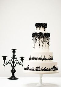Enchanted Forest. Wedding cake