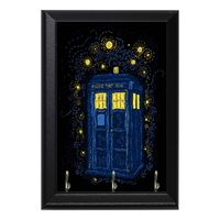 Doctor Who Tardis Time Machine Geeky Wall Plaque Key Hanger $15.00 https://www.nurdtyme.com