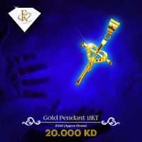 You'll feel blessed with this shining gold cross pendant designed in 18k gold. �–� Product type: Gold Cross Pendant  �–� Price: 20KD �–� Weight: 0.840 Grams �–� Free Delivery �–� Karat: 18 Karat �–�Part Numb...
