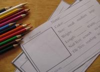 Rocks-Students at this station for examining a variety of rocks fill out this observation form: Name, Color, Size-small, medium, large, Weight, Length, Width, Nail Test (hardness), Title Test (color) I'd add something about luster and ...