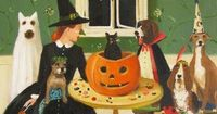 Janet Hill 'Miss Moon Was A Dog Governess. Lesson Ten: Sometimes Tricks Are Better Than Treats' 2013