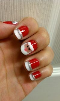 World inside pictures today have an amazing offer for your nails . Make your nails in the spirit of Christmas and take inspiration of this 34 brilliant photos o
