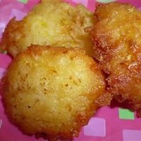 Summer Squash Puffs | �€œDelectable summer squash is combined with corn muffin mix and fried into tasty little fritters.�€