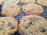 Freezer Friendly Meals: Perfect Oat Flour Chocolate Chip Cookies (Wheat free)