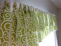 Here's my easy tutorial for a no sew window valance myself at a fraction of the cost of the identical one at Pottery Barn.