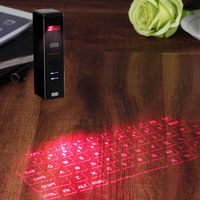 KB320 bluetooth Laser Projection Keyboard Built-in battery Wireless Virtual Keyboard Mouse For Mobile Phones iPads