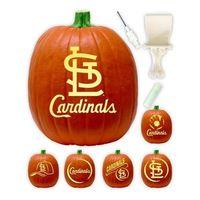 Cardinals pumpkin carving