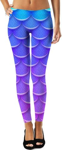 Mermaid Ombre Leggings $49.00