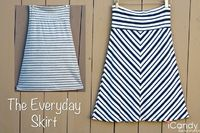 The Everyday Skirt - 1 yard of knit fabric