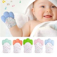 Newborn Chewable Nursing Mittens $14.95