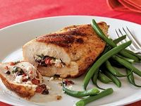This versatile stuffed chicken breast dish is easy enough for a weeknight supper but elegant enough for company.