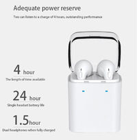 [True Wireless] Dacom GF7 Bluetooth Earphone Stereo Headphone with Charging Box for iPhone Xiaomi