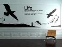 Life Flying Gulls Wall Decals