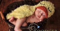 Fuzzy Duckling -Cuddle Critter Cape #newborn #photographyprop #crochet #pattern