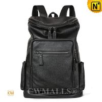 CWMALLS® Business Leather Backpack for Men CW907007