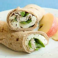 Make these simple whole grain sandwiches to take to work for lunch. Add an apple for a side dish to make a healthy meal.
