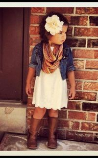 Heart melted with this outfit!!