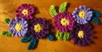 Crochet Daisies (new as of 11-16-13) from Lucy at Attic24. Just gorgeous!! ~ free pattern