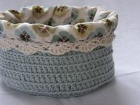 crochet baskets, baskets and crochet.