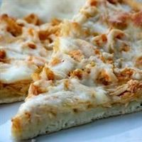 Buffalo Style Chicken Pizza   Let's get this straight: it's Buffalo wings. And pizza. Together? Get in my belly!