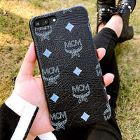 MCM Claus iPhone 8/8 Plus Case in Black