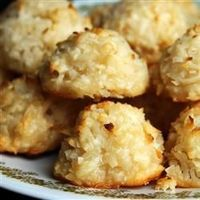Coconut Macaroons III Allrecipes.com This recipe has won many 1st place ribbons at my state fair. They are very simple to make.""
