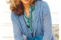 LACY CARDIGAN FOR WOMEN -FREE KNITTING PATTERN